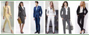 Los mejores uniformes ejecutivos
