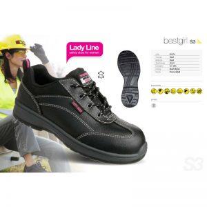 Calzado industrial para mujeres.