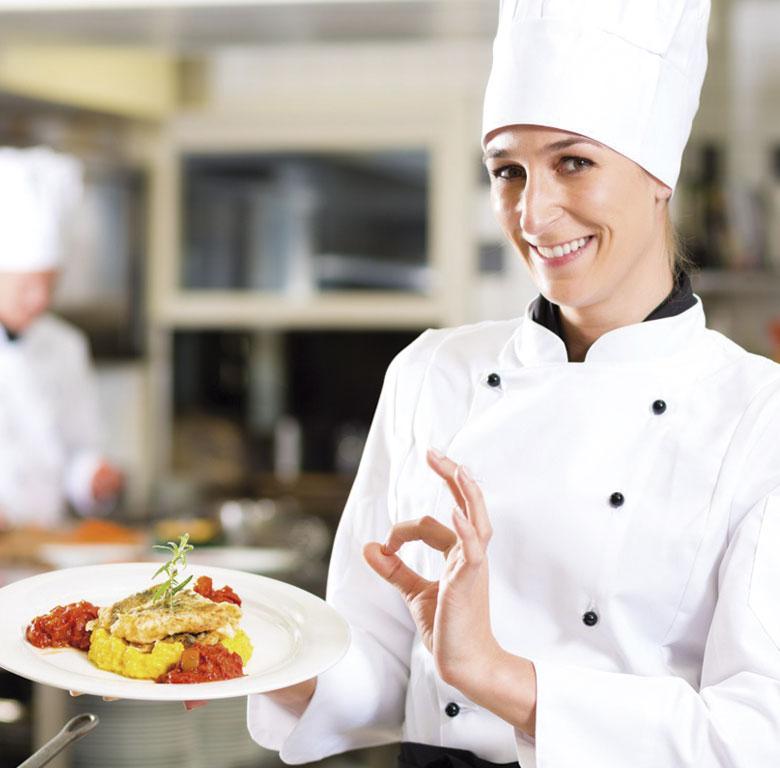 Uniformes de cocina.