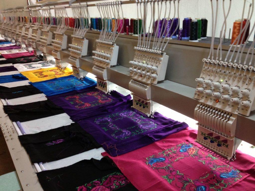 Bordado textil México 2018.