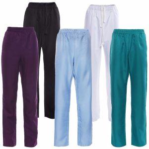 Pantalones de doctores.