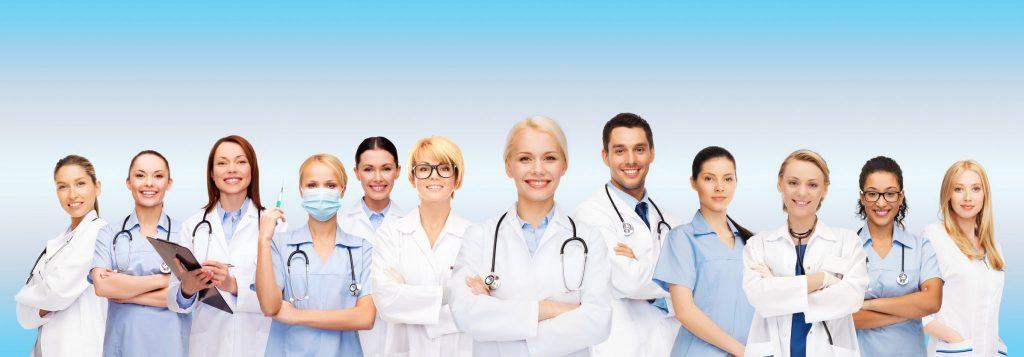 Uniformes de doctores.