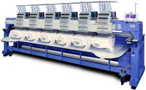 Máquina de bordados.