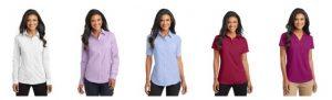 Camisas para damas.